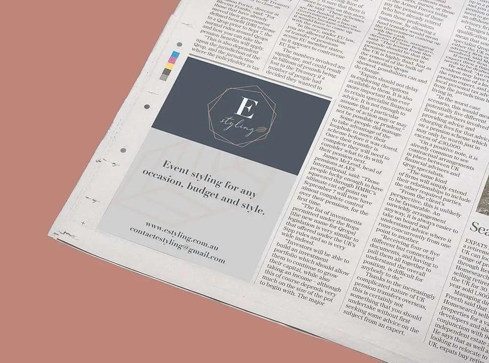 E_Styling_Newspaper_Print