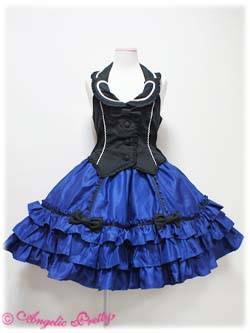 Angelic Pretty Magic Show Girl JSK Black x Navy