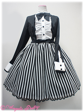 Angelic Pretty Geometric OP Black