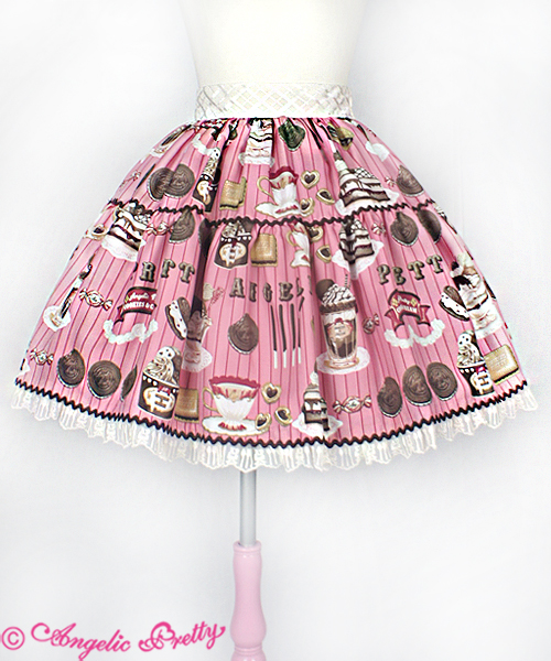 Angelic Pretty Cream Cookie Parade Pink