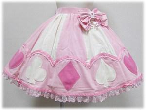 Angelic Pretty Marionette Girl Skirt Pink