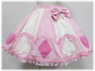 Angelic Pretty Marionette Girl Skirt Pink