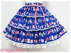 Angelic Pretty Toy Drops Skirt Blue