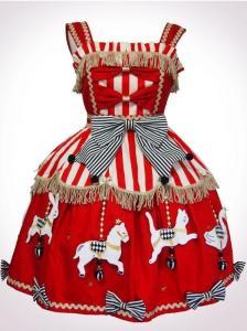 Vierge Vampur Animal Carousel JSK Red