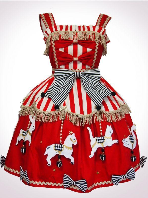 Vierge Vampur Animal Carousel JSK Red