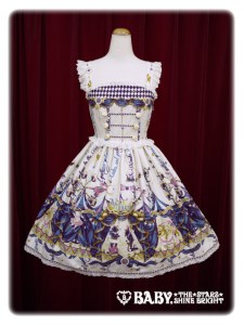 Alice and the Pirates Electric Circus in the Moonlight Night JSK I Ivory