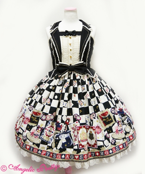 Angelic Pretty Magical Night Theater JSK Black