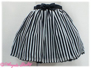 Angelic Pretty Geometric Skirt Black