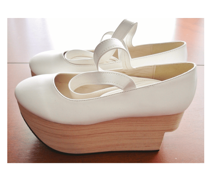 Bodyline Rocking Horse Shoe Ivory