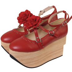 Bodyline Rocking Horse Shoes Red