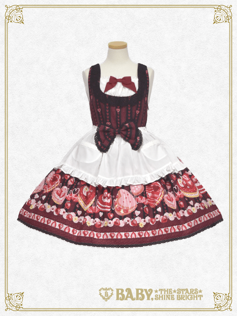 Baby the Stars Shine Bright DOKI DOKI ♡ STRAWBERRY MAGIC Jumperskirt Ⅱ