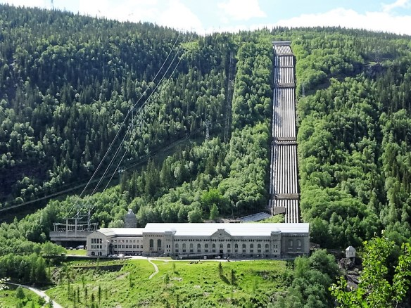 1 Usine hydroélectrique
