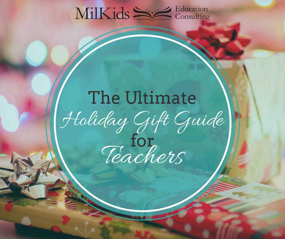 Get the perfect teacher gift with this ultimate holiday gift guide for parents to use!