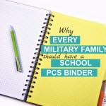 Why Every Military Family Should Have a School PCS Binder