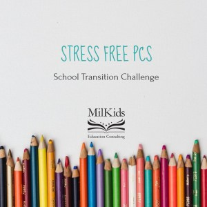 Join this FREE mini-course for military families to help make your next PCS smoother and easier. Learn how to move your military child between schools with expert advice!