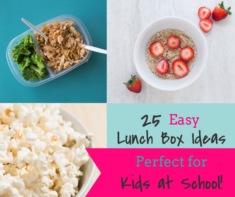 Make school meal prep super simple with 25 easy lunch box ideas for breakfast, lunch, and snacks!