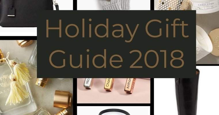 Holiday Gift Giving Guide 2018