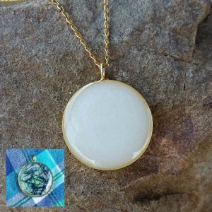 Gold Bezel - Milk Vine Jewelry