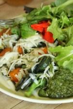 lunch- zuccini tomato and broc