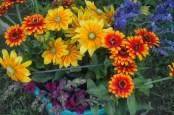 flower bouquet palette