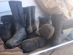 Pile of Boots