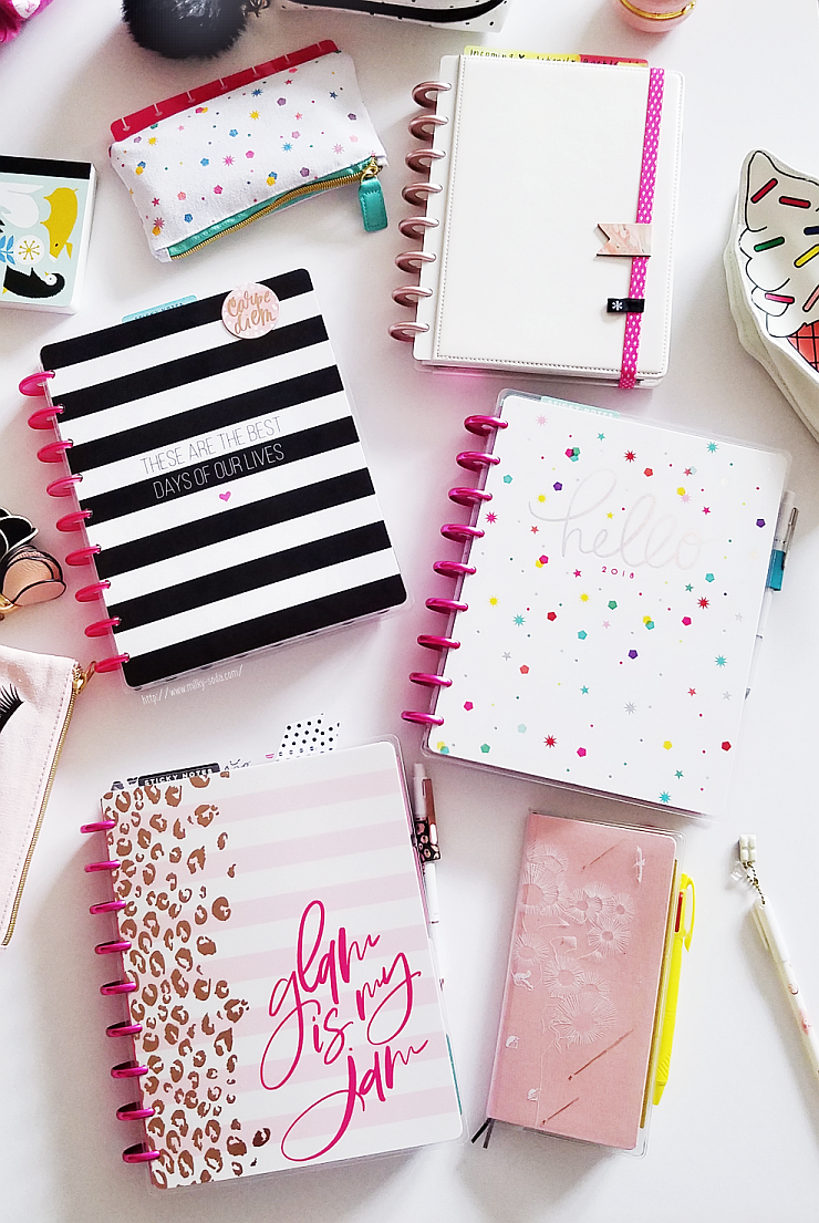 My 2018 Planner Lineup! + Part 1 +