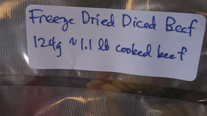 Space Food deployed today from orbit 5