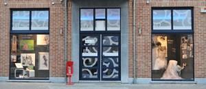 Création visuels façade agence photo