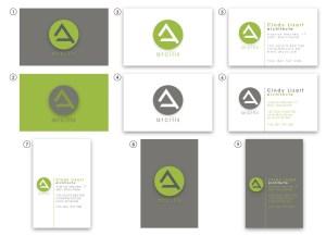 Création cartes de visite bureau d'architecture