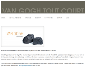 création site web van gogh tout court