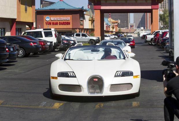 4. Bugatti Veyron Grand Sport Vitesse ($2.2 million)