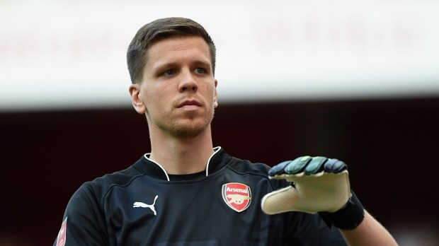 LONDON, ENGLAND - AUGUST 03: Wojciech Szczesny of Arsenal looks on during the Emirates Cup match between Arsenal and AS Monaco at the Emirates Stadium on August 3, 2014 in London, England.  (Photo by Michael Regan/Getty Images)