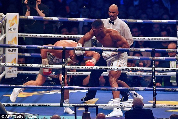 VIDEO: Bondia Anthony Joshua alivyoshinda kwa KO vs Wladimir Klitschko