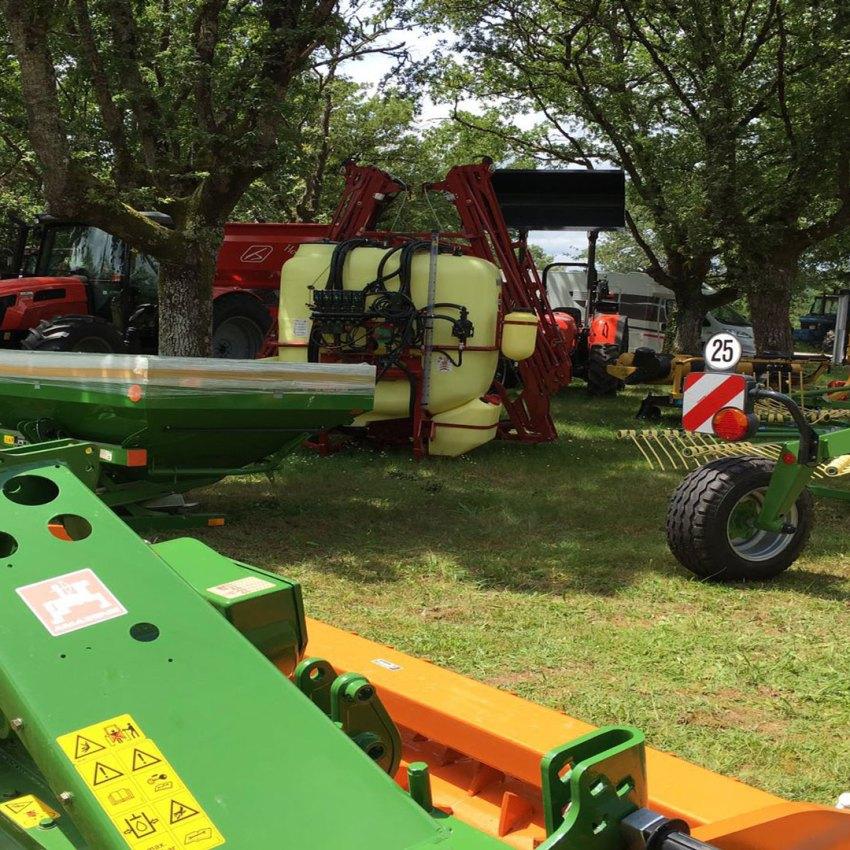 Exposición de maquinaria Agrícola en Galicia