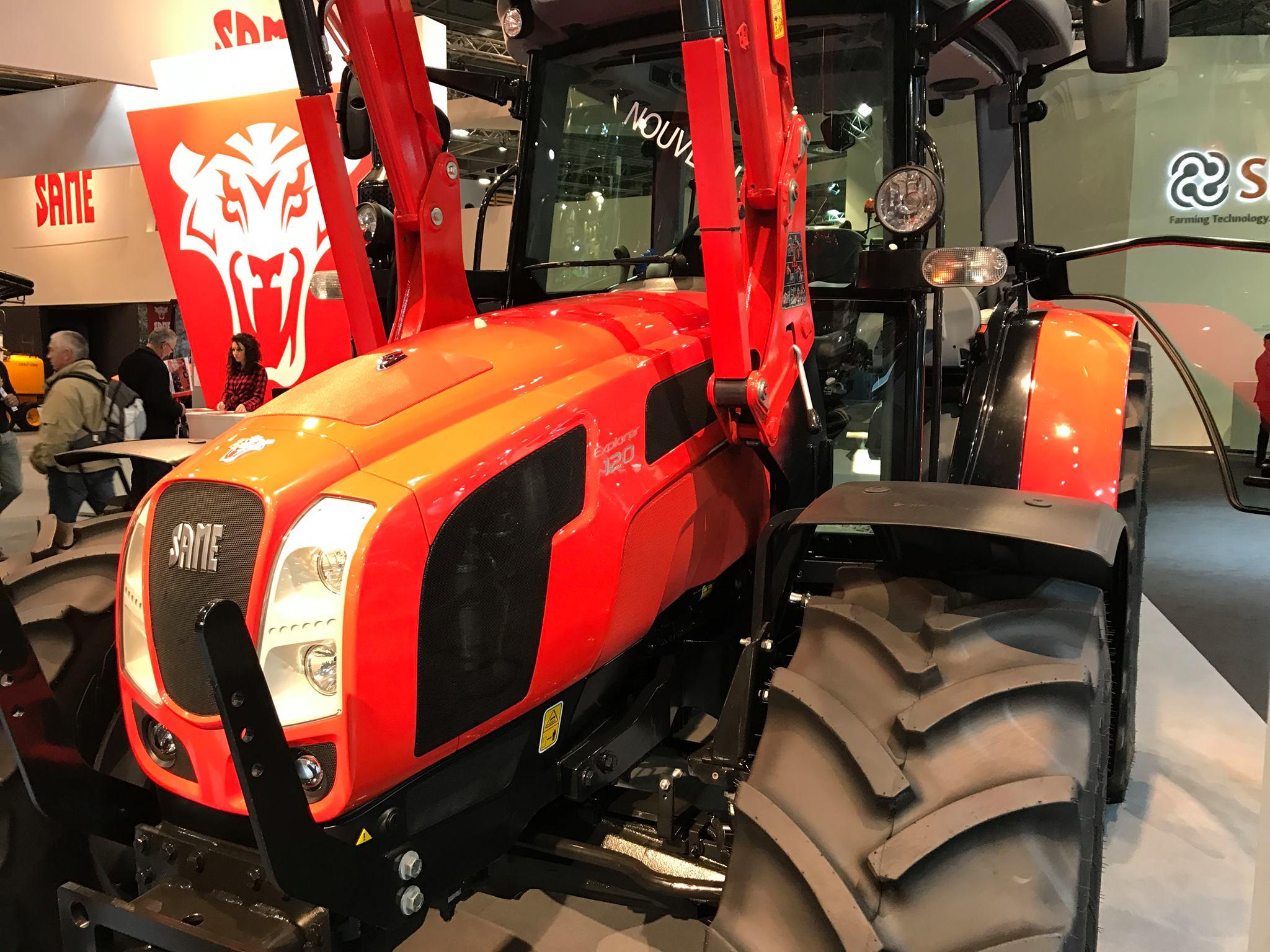 Feria de agricultura y maquinaria agrícola Same