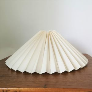 Knife Pleated Lampshade