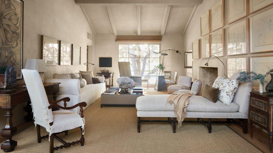 Suzanne Rheinstein Living Room