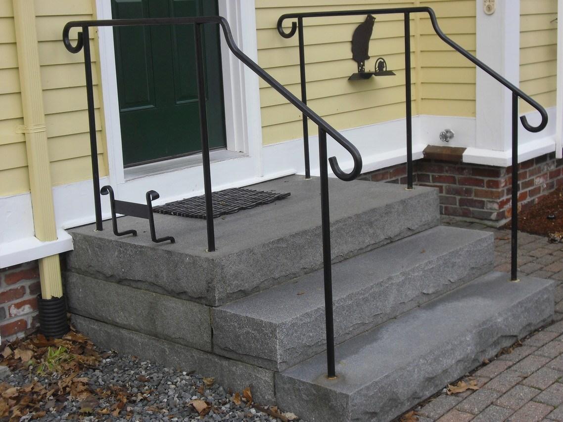 Custom Iron Railings Wrought Iron Railings Mill City Iron | Iron Handrails For Outside Steps | Railing Systems | Front Porch | Aluminum Railing | Deck Railing