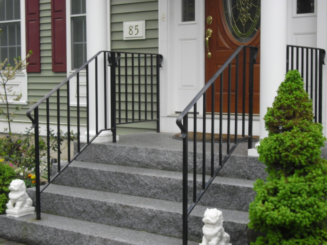 Custom Iron Railings Wrought Iron Railings Mill City Iron | Wrought Iron Handrail For Steps | Aluminum | Simple | Front Door Step | Forged Iron | Custom