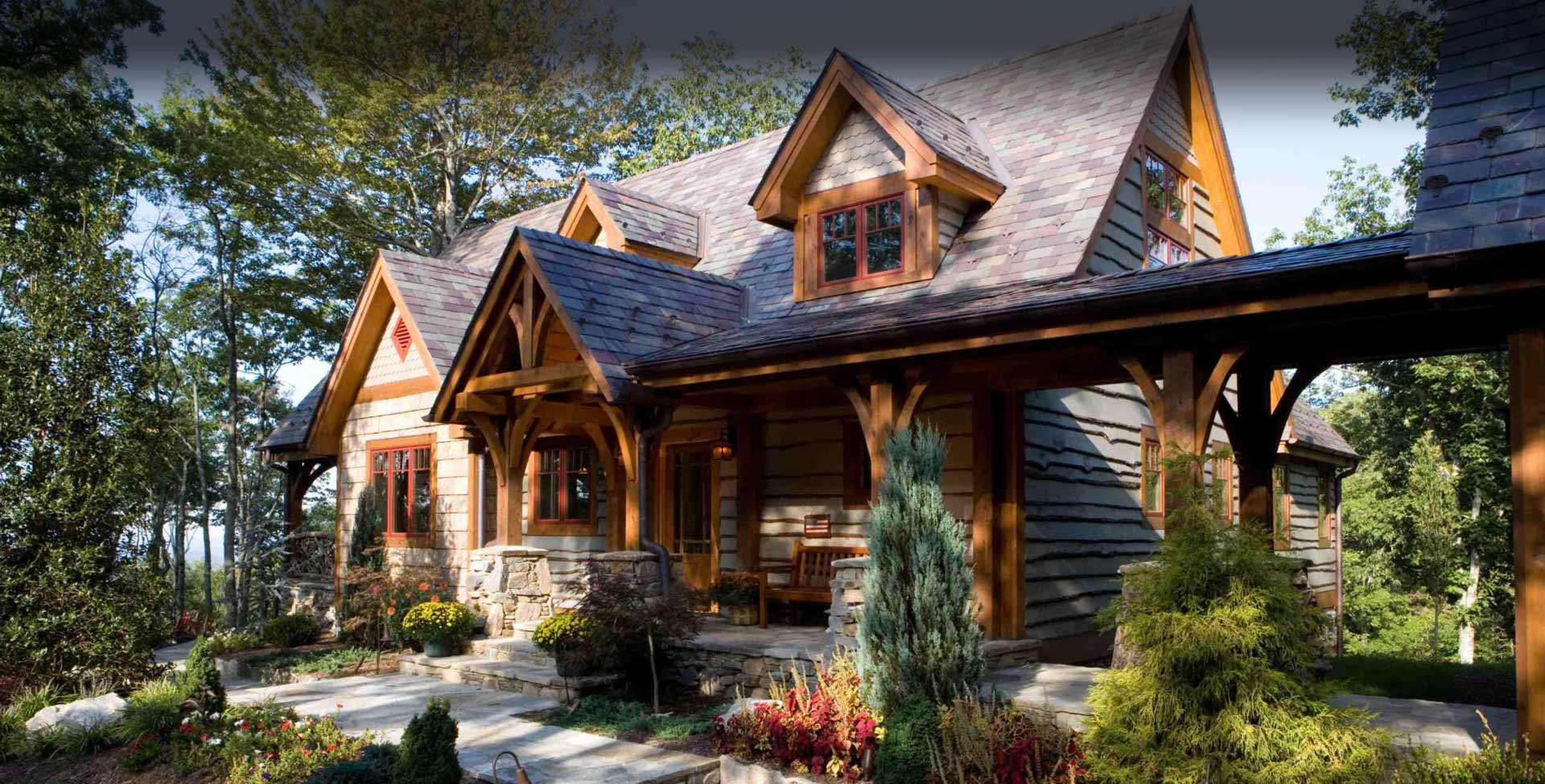 Timber Frame Homes By Mill Creek Post   Beam Company     Mill Creek Timber Frame Homes
