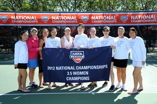 During the 2012 USTA League 3.5 Adult National Championships held October 4 - 7 at the Reffkin Tennis Center, in Tucson, AZ.