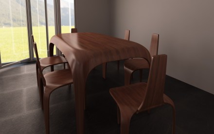 Design Dining Table and Chairs
