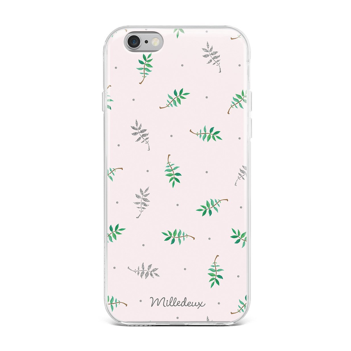 Milledeux Iphone Cover 6 6s 7 8 Plus Glitter Pattern