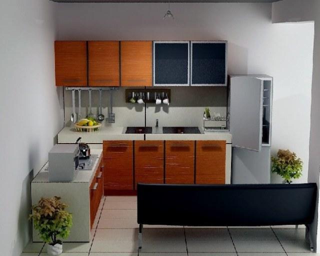 Desain Dapur Cantik Dalam Menata Rumah Tipe 36
