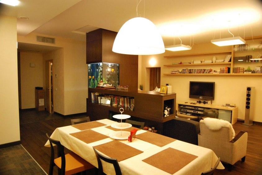 Дизайн интерьера квартиры. Столовая