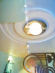 Дизайн интерьера квартиры. Потолок в гостиной