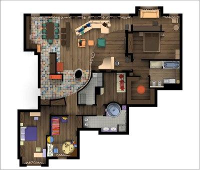 Дизайн интерьера квартиры. План