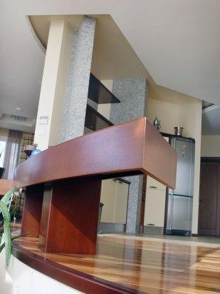 Дизайн интерьера пентхауса. Кухня