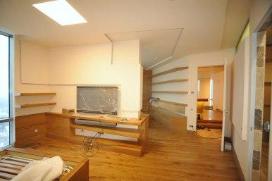 Дизайн интерьера квартиры в стиле контемпорари. Гостевая комната
