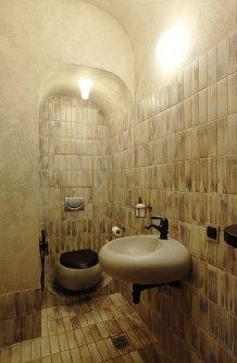 Дизайн интерьера квартиры в стиле Гауди. Санузел